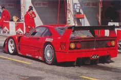 Ferrari F40 LM Test Car