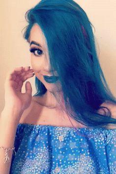 A internet está maluca por este cabelo que muda de cor #timbeta #sdv #betaajudabeta