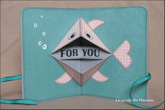 3-D Fish inside card
