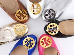 I love Torry Burch flats!! Omg need these for my new job!!!!