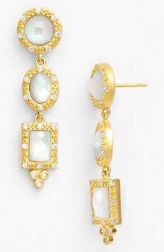 Freida+Rothman+'Metropolitan'+Drop+Earrings+available+at+#Nordstrom