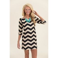 I am loving everything from this online shop! Chevron Cloud Nine Dress - $39.00