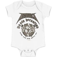 Megadeth Cute Baby Onesie Bodysuit Climb Clothes Romper For Baby Boys