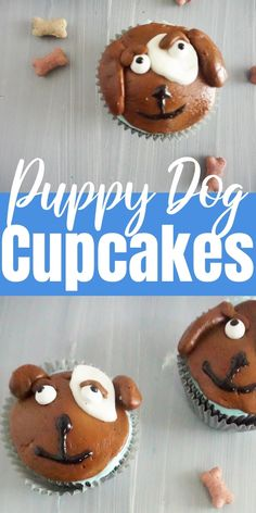How to Make Dog Cupcakes How to Make Dog Cupcakes Stephanie Manley copykatrecipes CUPCAKES RECIPES Do you know anyone who loves dogs Check out these nbsp hellip Homemade Frosting Recipes, Healthy Cupcake Recipes, Cupcake Recipes From Scratch, Healthy Cupcakes, Dessert Recipes, Cupcakes For Dogs Recipe, Puppy Cupcakes, Cupcake Decorating Tips, Cupcake Decorations