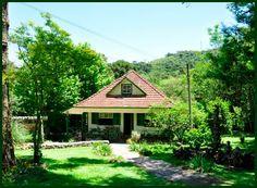 Umas das casas construídas no início dos anos 50 onde é possível obter informações sobre a fauna, flora, geologia e história do Parque e região. Parque do Caracol- Canela