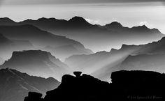 "Sunset in ""Degollada Las Palomas"" by Jose Ignacio Gil Blanco on 500px"