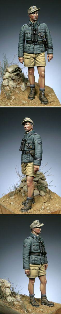 SS Officer Italy 1945