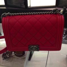 Chanel Boy Bag. I'm in love! https://www.tradesy.com/bags/chanel-cross-body-bag-dark-red-1296779/?tref=closet