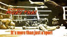 Muay Thai, it's more than just a sport, it's a way of life. #thaiboxing