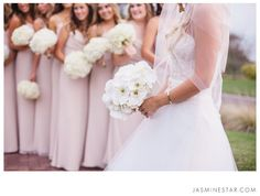 FAQ : Tips for Photographing a Bridal Party - Jasmine Star Photography Blog