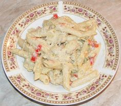 Potato Salad, Paste, Food And Drink, Chicken, Ethnic Recipes, Fine Dining, Red Peppers, Cubs