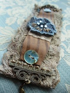Leather Lace Cuff