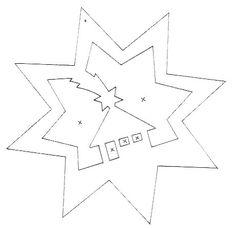 FILIGRAN ablakdíszek télre I. - mivagyunk.lapunk.hu Kirigami, Paper Cutting Patterns, Arts And Crafts, Paper Crafts, Rubrics, Snowflakes, Symbols, Letters, Templates