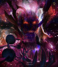 Dormammu Concept Art for Dr Strange by Ubermonster Marvel Doctor Strange, Dr Strange, Dark Fantasy Art, Beautiful Fantasy Art, Dark Art, Marvel Villains, Marvel Comics Art, Arte Dark Souls, Alien Art