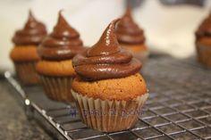 Mi Diario de Cocina | Cupcakes de nutella | http://www.midiariodecocina.com