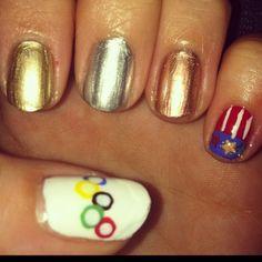 #Nails by: @mrsmanpolish #JulepOlympics