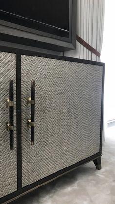 Cabinet with textured doors Luxury Furniture, Modern Furniture, Home Furniture, Furniture Design, Cabinet Furniture, Cabinet Design, Luxurious Bedrooms, Cabinet Doors, Armoire
