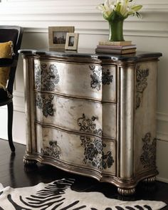 Products Hand Painted Furniture ~ Louise May Heath Owner and Operator of LuxTouch Vintage furniture and decor Hand Painted Furniture, Refurbished Furniture, Paint Furniture, Repurposed Furniture, Furniture Projects, Furniture Making, Furniture Makeover, Antique Furniture, Home Furniture