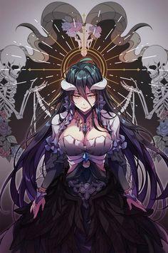 Albedo   Overlord Nanatsu, Manga Anime, Anime Demon, Art Anime, Comic Manga, Animes Manga, Anime Comics, Manga Girl, Manga Games