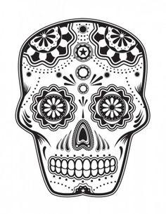 Dibujos para colorear el día de los muertos (41)