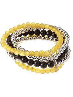 accessory PLAYS® NCAA University Of Iowa Five Row Stretch Bracelet