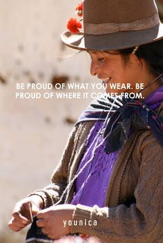 Be proud of what you wear. Be proud of where it comes from Emoticono heart  #peru #artisans #madewithlove #younica #younicaknitwear #handmade #handknitted #babyalpaca #handcraft #purematerials #highquality #unique #crafteddetails #luxurious