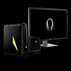 Alienware's latest X51 gaming PC amps up with liquid cooling, latest Intel chip. #computers #desktops