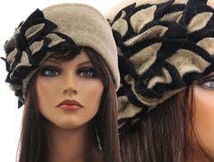 Artsy handmade womens winter hat / cap from soft от classydress