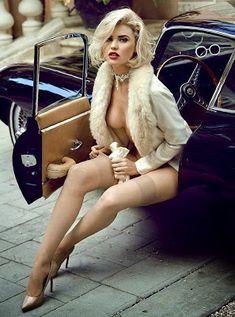Kayslee Collins - Playmate February 2015 Jaguar E-Type