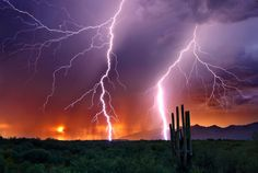 Sonoran lightening