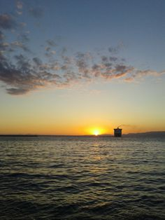 Sunset in Patras, Greece
