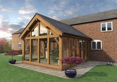 Bungalow Extensions, Garden Room Extensions, House Extensions, Extension Veranda, House Extension Design, House Design, Extension Ideas, Barn House Conversion, Barn Conversion Interiors