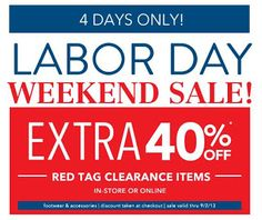 Payless Shoes- Get an Extra 40% off Clearance Items In-Stores