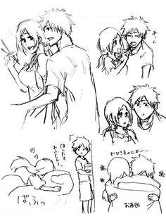 Bleach Fanart, Bleach Manga, Ichigo E Orihime, Nalu, Character Concept, Anime Couples, Manga Anime, Animation, Ideas