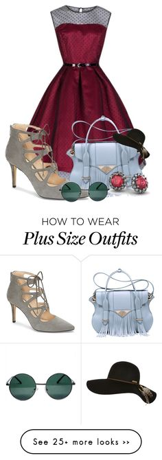 """Lace Up Heels"" by dubaiwholesalediamond on Polyvore featuring moda, Ella Rabener, Vince Camuto, YHF, 18 KT e Billabong"