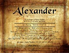 Alexander name meaning a l e x a n d e r pinterest babies