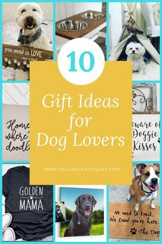 10 Gift ideas for Dog Lovers, Personalized gift guide for Dog Owners #gift #giftidea #giftguide #dogs #doglovers #dogowners #newdog #homedecor #doggift #doglife #dogmom #dogdad