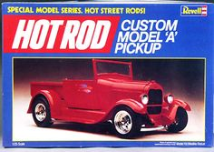 "Revell 1929 Ford ""A"" Pickup (Roadster or Closed Cab) Street Rod"