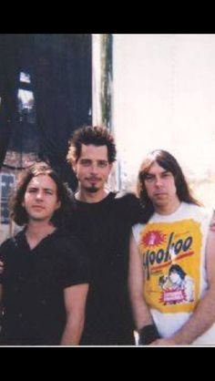 Eddie Vedder, Chris Cornell, and Johnny Ramone