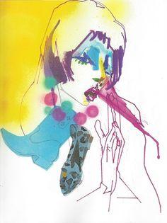 Fashion Illustrator ~ JulieVerhoeven www.jujuchan.com