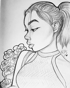 Just a little sketch b4 bed tonight ~Do what makes you happy~ ⭐Reference Model: @sinbleu  #pretty #profile #art #artist #drawing #drawings #artistic #creative #inspiration #sketch #sketching #love #model #fashion #anime #Disney #illustration #instaart #instaartist #goodnight #monday #happy #instagood #instamood #Godisgoodallthetime