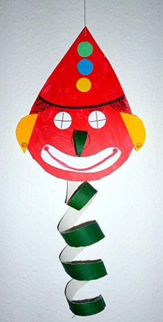 Bastelideen basteln fasching hexe klorollle kopf arme kindergarten ideen pinterest - Basteln im kindergarten karneval ...