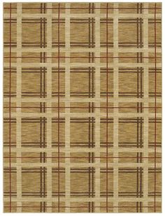 Area Rugs - HGTV Home Flooring by Shaw | Forever In Plaid 3VE76 Gold