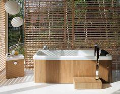 bathroom beatiful ideas for outdoor bath tub design ideas 27 photos of modern and minimalist bath tub design