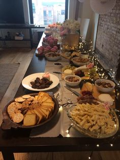"""lots of options for the """"wine/cheese"""" bridal shower 