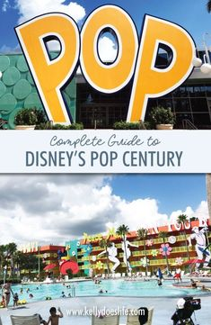 All about Walt Disney World's Pop Century Resort! From preferred rooms, maps, food court, pools, and more! Disney World Hotels, Walt Disney World Vacations, Disney World Resorts, Disney Trips, Disney Parks, Disney Worlds, Disney Travel, Disney Bound, Trip To Disney World