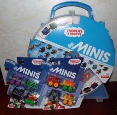 Thomas & Friends Collectors Playwheel & DC Super Friends Minis Lot NEW! #FisherPrice