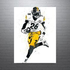 Le'Veon Bell Pittsburgh Steelers Poster