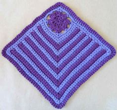 "Easy As… ""hdc"" Crochet Dishcloth – Maggie Weldon Maggies Crochet Hdc Crochet, Granny Square Crochet Pattern, Crochet Blocks, Crochet Squares, Crochet Home, Free Crochet, Granny Squares, Crochet Designs, Crochet Patterns"