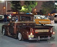 This is great 2 for 1 shot and both and both are Chevy.